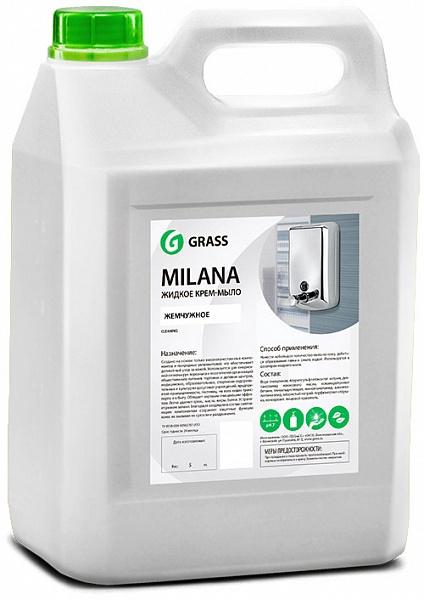 Жидкое крем-мыло MILANA 5 кг.