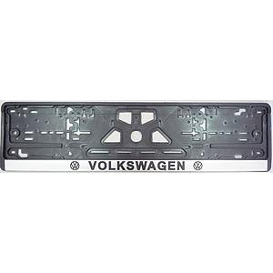 """Рамка """"Volkswagen"""", с подсветкой надписи, белое свечение"""