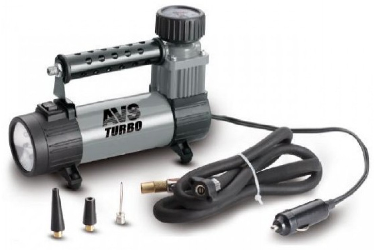 Компрессор автомобильный Turbo AVS KS350L (35 л/мин)