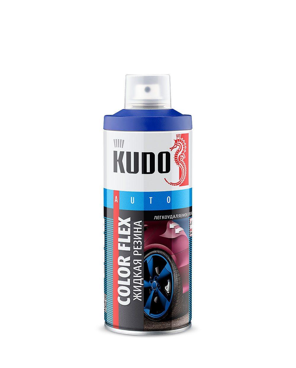 "Жидкая резина ""KUDO"" (520 мл) (белый) (аэрозоль)"