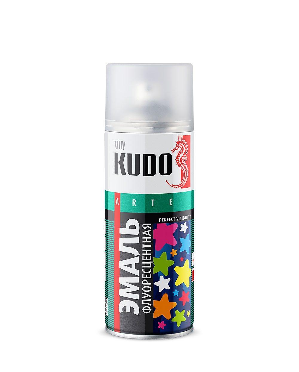 "Краска ""KUDO"" желтая (520 мл) (аэрозоль)"