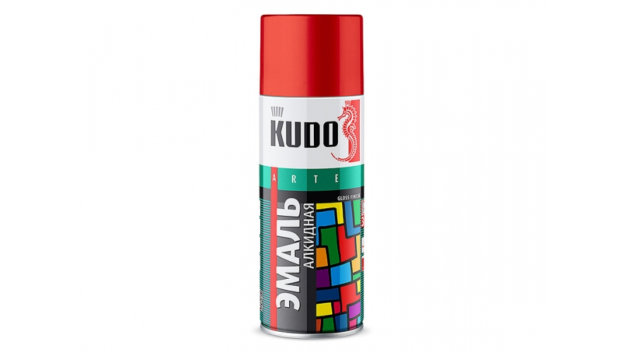 "Краска ""KUDO"" зеленая (520 мл) (аэрозоль)"