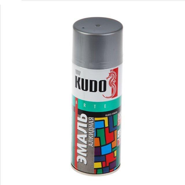"""Краска """"KUDO"""" серая (520 мл) (аэрозоль)"""