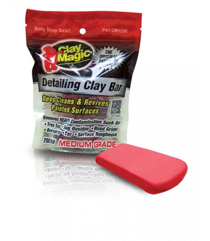 CLAY MAGIC® (RED) Глина абразивная, применяется перед полировкой