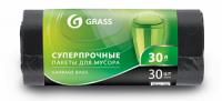 Мешок для мусора ПНД в рулоне 30л. 55*46 10 мкр. (черный) (рул. 30 шт)