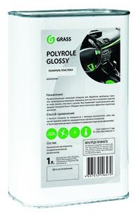 """Полироль-очиститель пластика глянцевый """"Polyrole Glossy"""" (канистра 1 л)"""