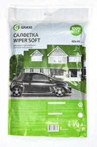 Салфетка WIPER SOFT (100% микрофибра 40*40) упакованная